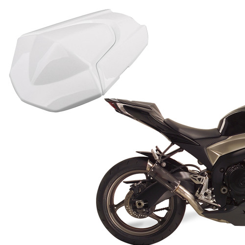 Rear Pillion Seat Cowl Fairing Cover for Suzuki GSXR1000 (09-16) K9 White