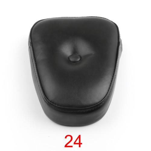 Sissy Bar Backrest Cushion Pad Choppers Universal 24, Black