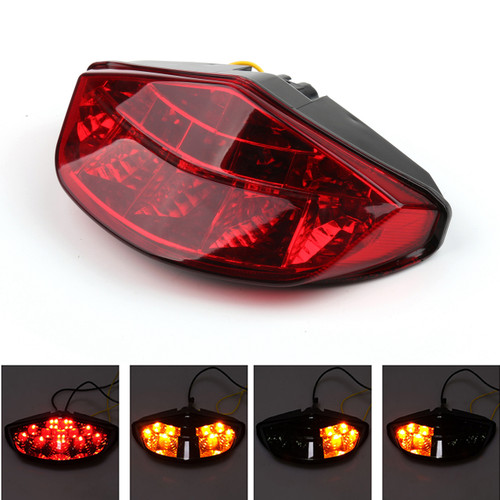 Tail Light LED Integrated Turn signals DUCATI Monster 696 795 796 1100, Red