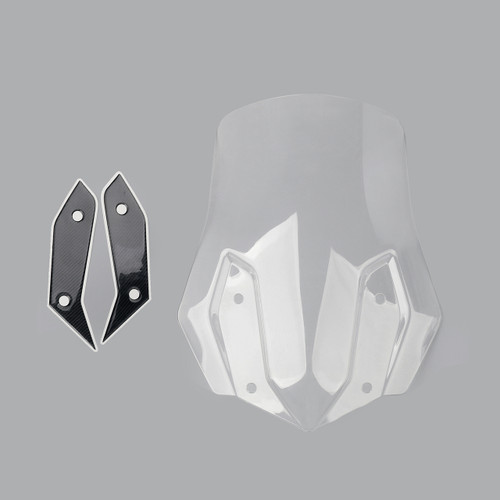 ABS Plastic Windshield Windscreen For BMW R1200GS 2013-2017 Clear