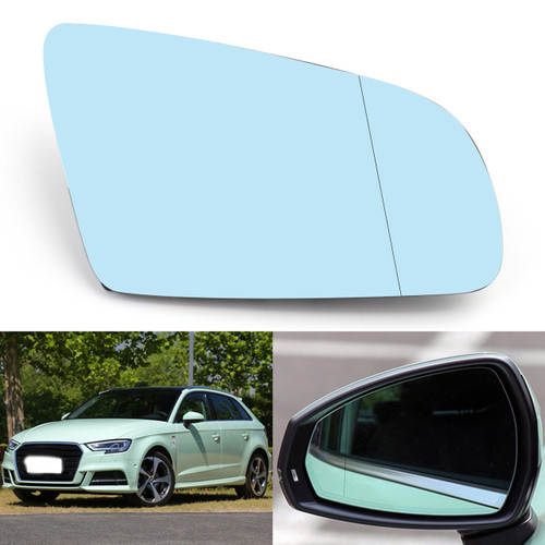 Right Passenger Side Rearview Mirror Glass For Audi A4 B6 B7 A6 C6 05-08