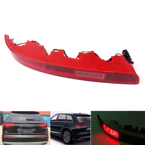 Rear Left Bumper Red Tail Light Reverse Fog Light Lamp Fit For Audi Q7 06-15