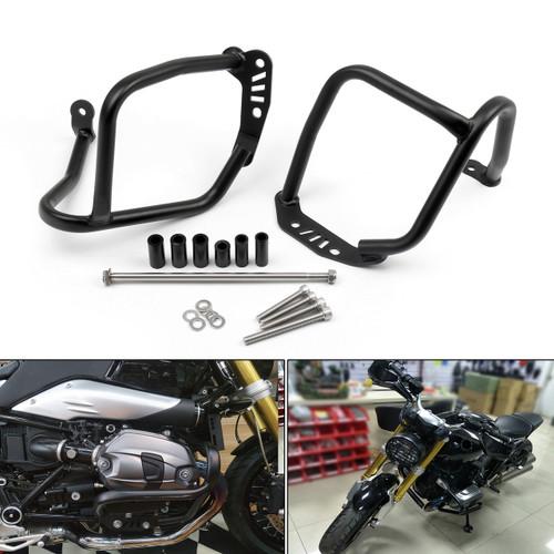 Upper Crash Bars Protection Frame BMW RnineT R1200R (2014-2016), Black