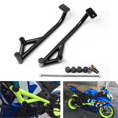 Engine Guard Crash Bars Frame Protector Suzuki GSXR1000 (2009-2015) Black