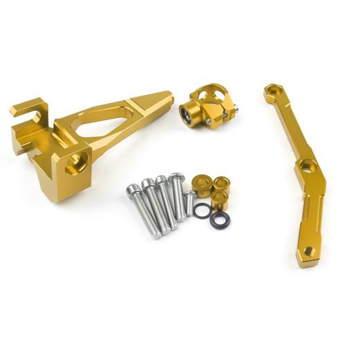 Steering Damper Stabilizer Bracket Yamaha FZ09 MT09 (2013-2016) Gold