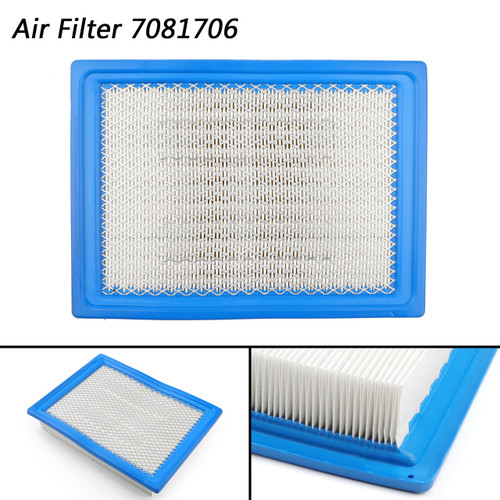 Air Filter 7081706 Cleaner Box Stock For Polaris Utility RANGER 1000 DIESEL, RGR 900 EPS POLAND SAGE BRUSH GREEN (R03)2017 Blue