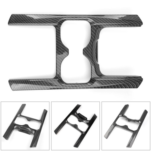 Interior Water Cup Holder Cover Trims For Honda CRV CR-V 2017 2018 Carbon