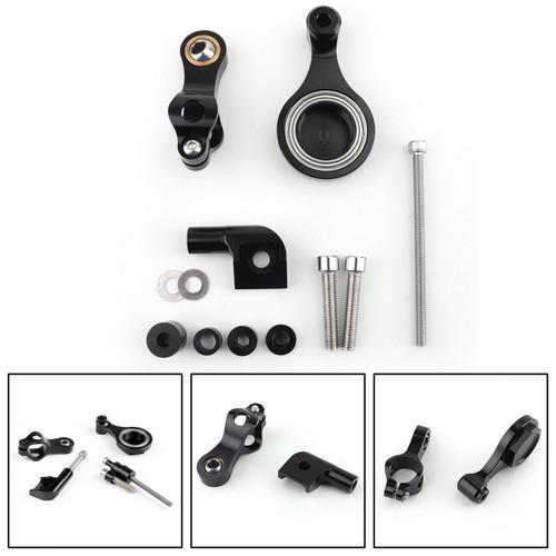 Steering Damper Stabilizer Yamaha YZF R1 (08-12) R6 (06-16) Black