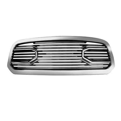 Mesh Front Grille Shell For Ram 1500 2013-2018 Chrome