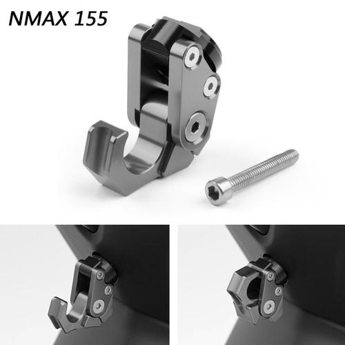 Carry Helmet Bottle Hanger Holder CNC Aluminum Alloy Hooks For Yamaha NMAX 155 15-19 Titanium