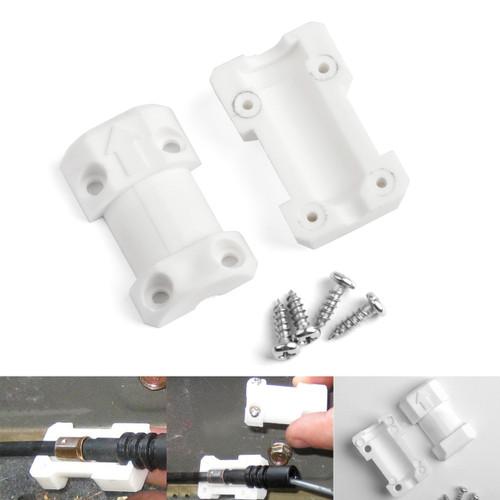 Fuel Door Release Repair Kit For Honda Civic 2001-2005 White
