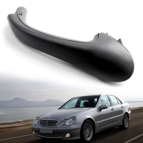 Front Left Interior Door Pull Handle For Mercedes-Benz C280 C350 06-07 C240 C320 03-05 Black