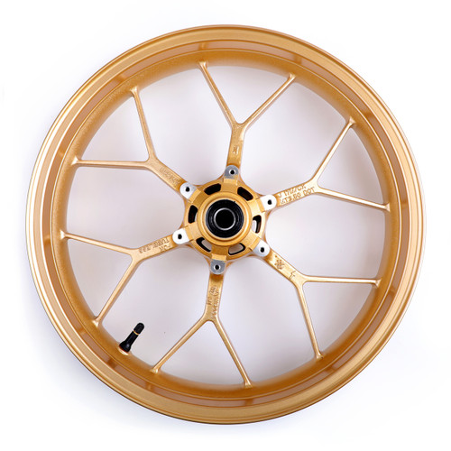 "Front Wheel Rim 17""x 3.5"" For Honda CBR 600 RR CBR600RR 2013-2017 Gold"