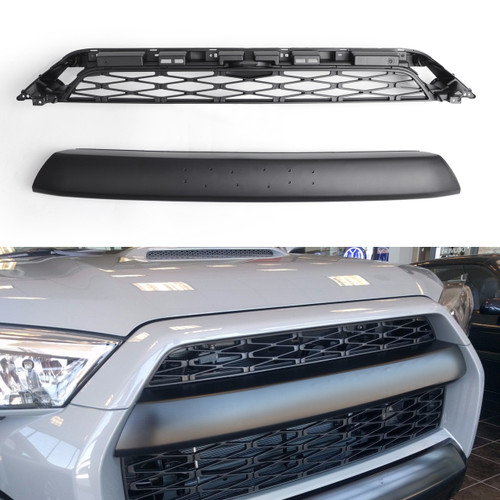 TRD Pro Style Grille for 4RUNNER (2014-15-16-17-18-19) PZ327-35053 w/ Logo