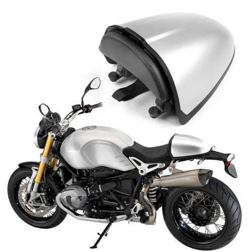 Rear Pillion Seat Cowl Cover Fairing For BMW R 1200R NINE T 2014-2016 Silver