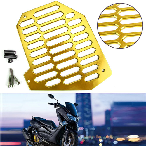 Radiator Grille Cover Guard Shield Protector Fits Yamaha NMAX 125 NVX 155 Gold