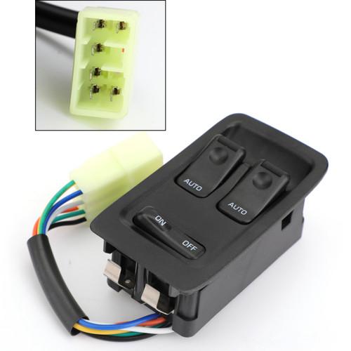 Master Power Auto Window Switch FD14-66-350C For Mazda RX-7 RX7 1993-2002 Black