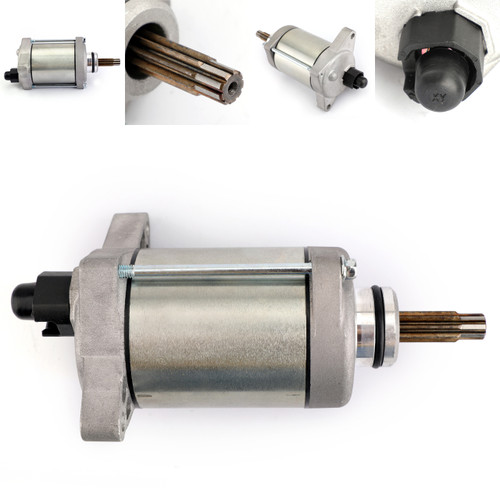 Electric Starter Motor for Honda TRX420 TRX500 Pioneer 500 31200-HP5-601 31200-HR0-F01 Silver