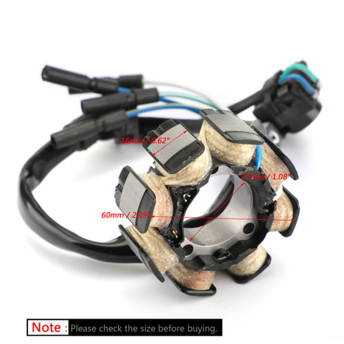 Alternator Stator Coil 8 Poles For Honda CRF250R 04-09 CRF