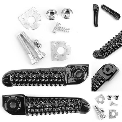 Rear Foot Peg Footrest For Yamaha YZF R1 98-14 YZF R6 99-14 YZF R6S 03-08 Black