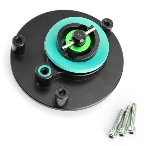 Fuel Filler Cover Gas Tank Cap For Yamaha YZF R1 R1M 04-17 YZF R6 03-16 Green