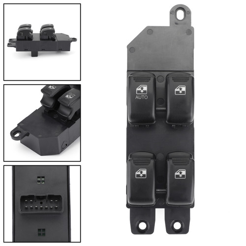 Master Power Auto Window Switch 93570-26100 For Hyundai Santa Fe 01-06Black