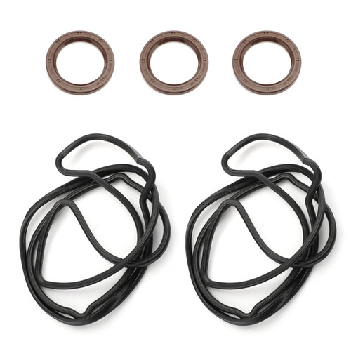 OEM Valve Cover Gaskets W/Crank And Cam Seals For LEXUS GS300 98-05 IS300 01-05 SC300 98-00 SUPRA 97-98