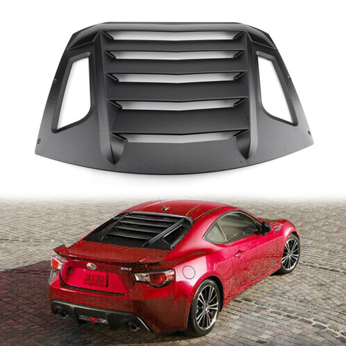Rear Window Louver Sun Shade Cover For Subaru BRZ/Scion FR-S/Toyota GT86 13-18