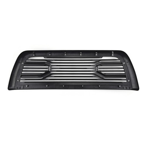 Big Horn Front Hood Bumper Grille Replacement For 2010-2018 Ram 2500/3500 Black
