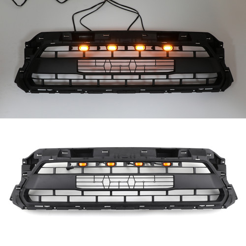 4X Front Bumper Hood Grille LED Lights For Toyota Tacoma 2012-2015 PTR54-35150