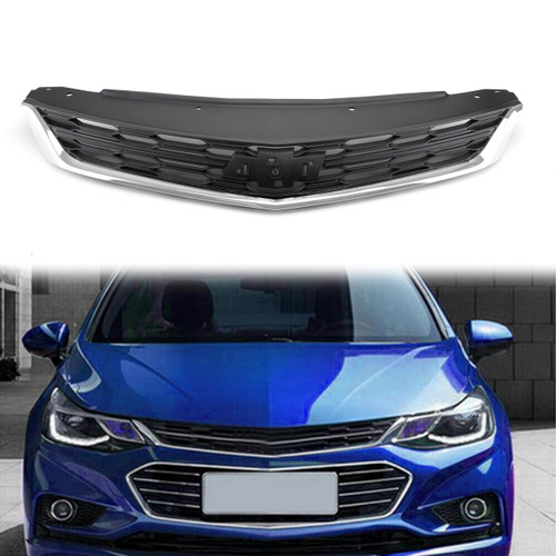 1PC Replacement Part Front Bumper Upper Grille For Chevrolet Cruze 2016-2018