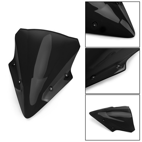 Windscreen Windshield Screen Kawasaki Ninja 650 17 18 Black