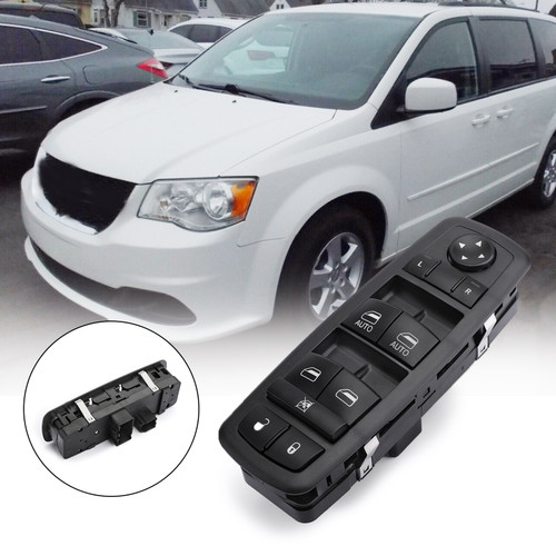 Window Switch For Grand Caravan Chrysler Town Country 10-11 Black