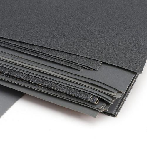Sandpaper 400 600 800 1000 1200 1500 2000 2500 3000 Grit Wet Dry Assorted Wood Black