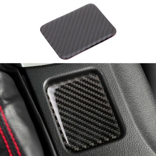 Carbon Fiber Control Gear Panel Cover Trim For Toyota 86 Subaru BRZ 2015 Carbon