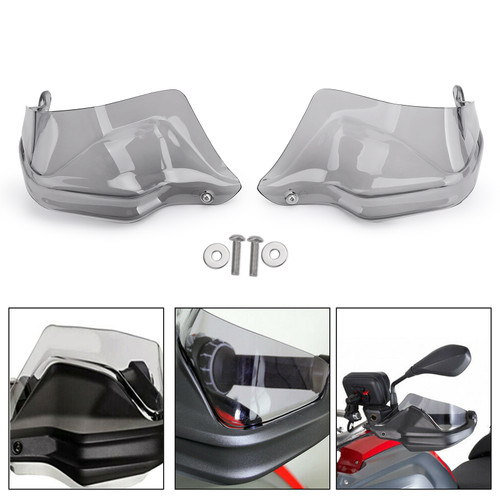 ABS Hand Guard Handguards Protector For BMW K21 R nineT K22 R nineT Pure K23 R nineT Scrambler 15-18 Gray