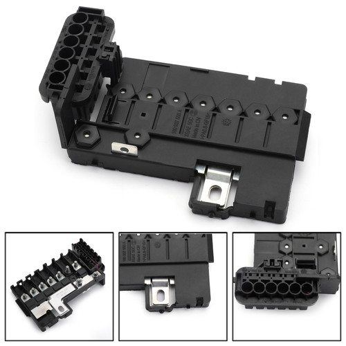 Fuse Box Battery Terminal For VW Jetta MK6 VW Polo 11-15 VW UP 11-18 VW Sangtana 10-15 Skoda Fabia Rapid Octavia 13-15 Black