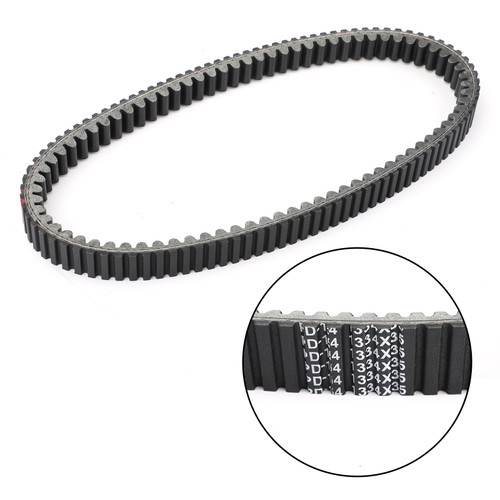 Primary Drive Clutch Belt For Aeon Urban 350 11-13 Elite 350 12-13 Quadro 3D 350 12-15 Black