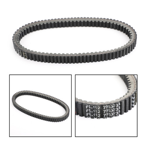 Primary Drive Clutch Belt For Aeon Quadro 4 346cc 2016 Black