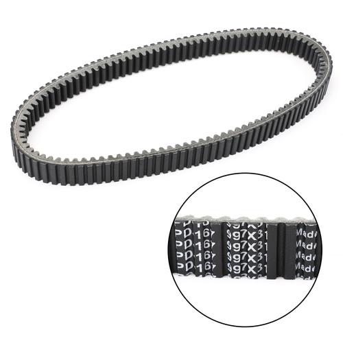 Primary Drive Clutch Belt For Kawasaki KVF300 Prairie 300 4X4 300 99-02 Black