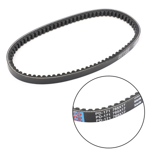 Primary Drive Clutch Belt For Suzuki LT80 Quadsport 87-06 Kawasaki KFX80 03-06 Black