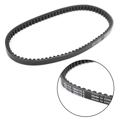 Primary Drive Clutch Belt For Polaris SCRAMBLER Bingo 50 98-03 MBK Evolis 50 92-98 Black