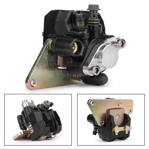 Rear Brake Caliper Assembly For Kawasaki 43041-S011 KSF400 KFX 400 03-06 Black