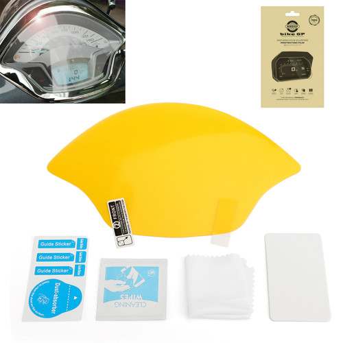 Ultra Clear Dashboard Screen Protectors For Vespa GTS 17-18 Clear