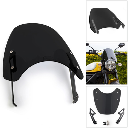 Windscreen Wind Defector protection B For Ducati Scrambler 15-18
