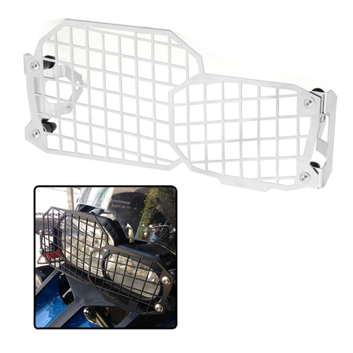Headlight Guard Grille Protect For BMW F800GS 700GS F800R F650GS 08-17 Silver
