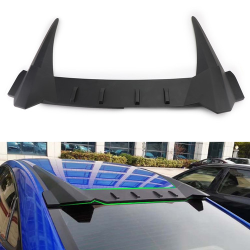 Type R style Rear Roof Fin Spoiler For Honda Civic 4 Door Sedan 2016-17-2018