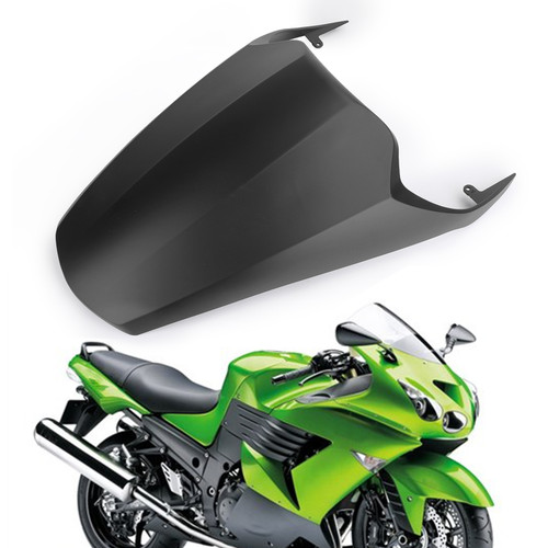 Rear Seat Cover Cowl Fairing For KAWASAKI ZX14R ZZR1400 06-12 Mblack
