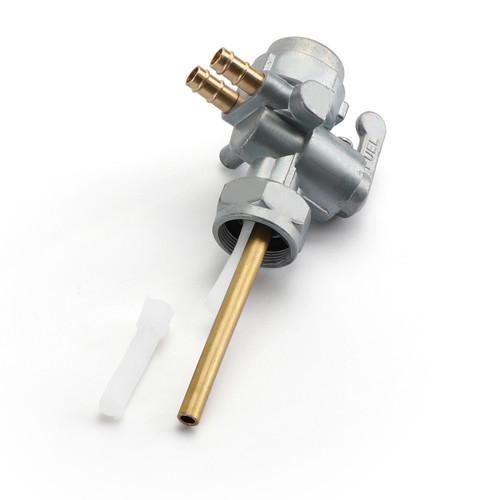 Fuel Gas Petcock Petrol Switch 51023-040 For Kawasaki 51023-040 H1 Mach III 69-75 H2 Mach IV 72-75 KH500 76 Silver