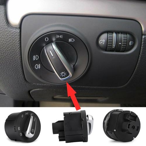 Euro Headlight Switch Contorl For Volkswagen Models From 2006-up Jetta MK5 MK6 05-13 Golf MK5 MK6 05-14 Black